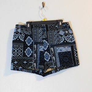 Ecote Blue Tapestry shorts